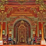 Salah satu bangunan di Puri Ubud