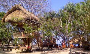 Rumah pohon di The Pirates Bay Bali