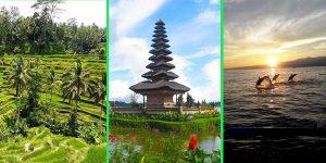 Rute objek wisata searah di Bali