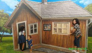 Lukisan di Museum 3D I Am Bali