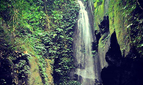 Objek wisata Air Terjun Pengempu di Tabanan
