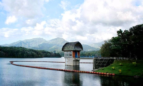 Objek wisata Bendungan Palasari di Jembrana Bali