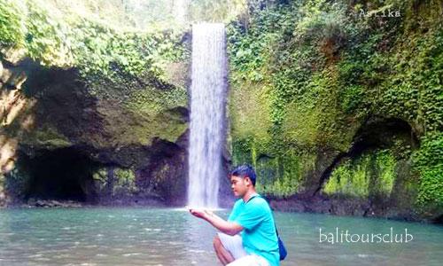 Objek wisata air terjun Tibumana Bali