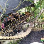 Rumah Pohon Temega di Karangasem