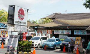 Toko Joger di Kuta Bali