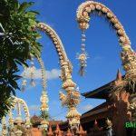 Penjor Upacara di Bali