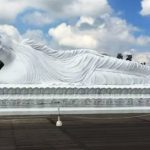 Patung Budha Tidur di Tabanan