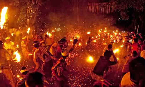 Tradisi Terteran di Jasri Karangasem