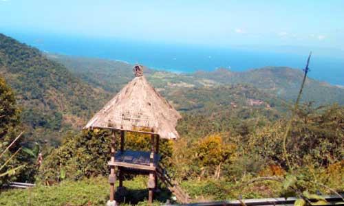 Objek wisata Bukit Putung di Karangasem