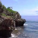 Pemandangan laut di Pulau Nusa Dharma