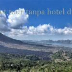 Paket tour tanpa hotel di Bali