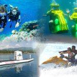 Aktivitas wisata bahari di Bali