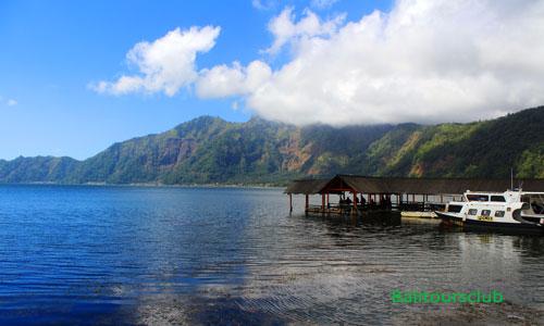 Danau Batur dan dermaga Kedisan