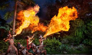 Fire Dance - Tarian api di Bali Zoo Park