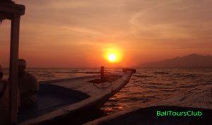 Sunrise di Pulau Menjangan
