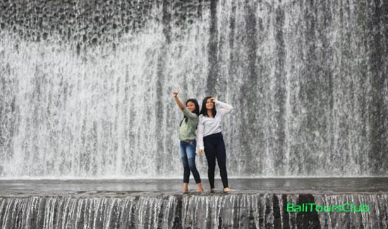 Tempat wisata selfie di Kali Unda
