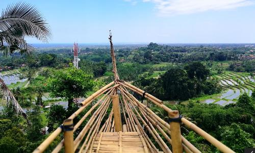 Twin Hill di Bunutin Bangli