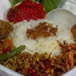 Nasi kotak di Bali paket I