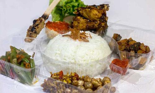 Nasi kotak di Bali paket II