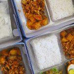 Nasi Kotak di Denpasar Bali