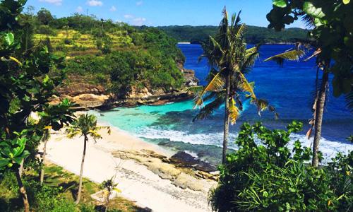Objek wisata di Nusa Lembongan - Secret Beach