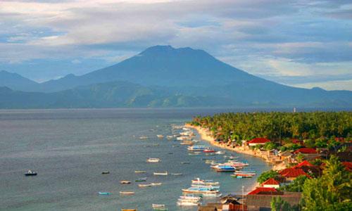 Panaroma Point di Nusa Lembongan Bali