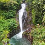 Air terjun Mekalongan atau Mekalangan di Gitgit