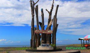 Objek wisata pantai Lembeng Ketewel