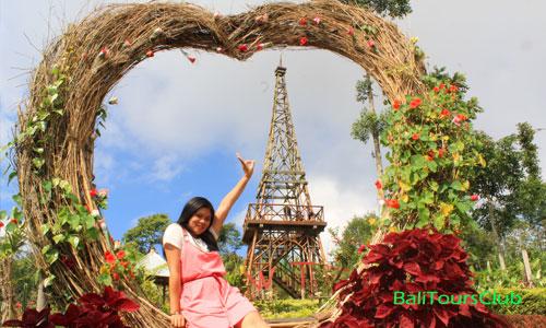 Objek wisata Wanagiri Tower Garden - WTG
