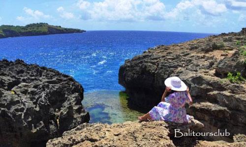 Objek wisata searah di Nusa Penida