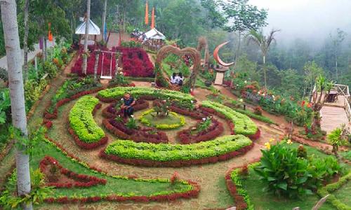 Wanagiri Tower Garden Wtg Di Buleleng Dengan Menara Bambu