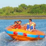 Watersport di pantai Serangan Bali