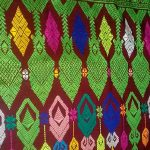 Kerajinan Kain Tenun Rangrang di Nusa Penida
