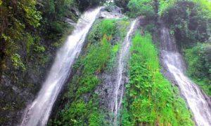 Objek wisata air Terjun Tibu Kresek