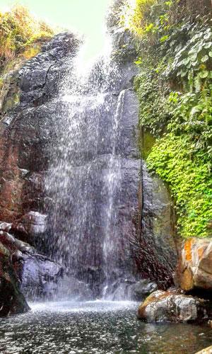 Objek wisata air terjun Yeh Poh Manggis