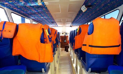 Ruang kabin Samaya one fast boat