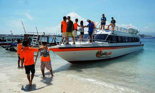 Speed boat Gili Gili