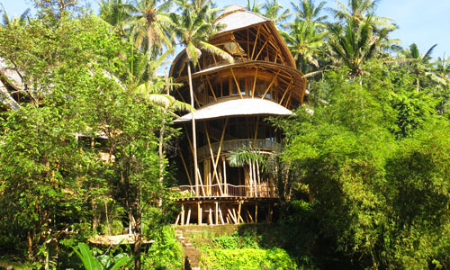Temple house di Green Village Bali