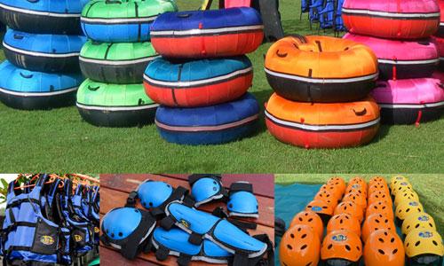 Alat perlengkapan bermain river tubing