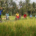 Wisata naik sepeda atau cycling tour di Bali