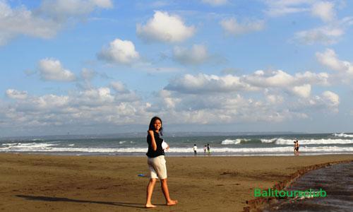 Keindahan di pantai Perancak Canggu Bali