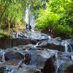 Objek wisata Air Terjun Giri Campuhan di Tembuku Bali