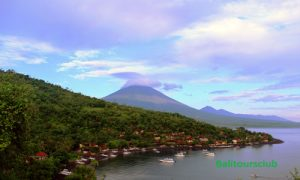 Objek wisata Sunset Point di Jemeluk Amed