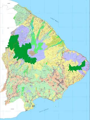 Peta Kabupaten Karangasem