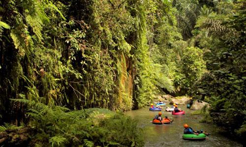 Sungai Yeh Penet tempat Bali River Tubing