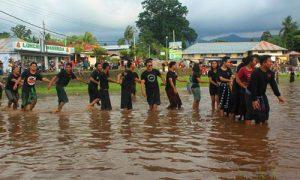 Tradisi Megoak-goakan di desa Panji Buleleng
