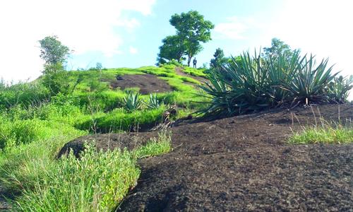 Objek wisata Bukit Batu Gundul di Banjar