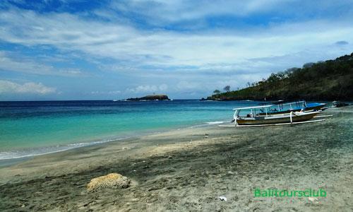 Objek wisata Virgin Beach Karangasem