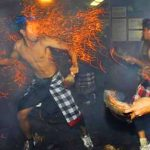 Tradisi Mesabatan Api di Nagi