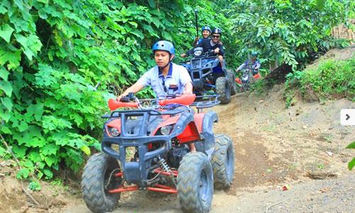ATV di Agro Puncak Bukit Catu Bedugul